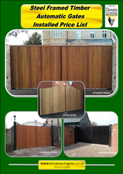 Metal Framed Timber Swing & Sliding Gates Brochure