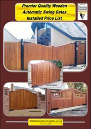 Premier Quality Wooden Gates Brochure