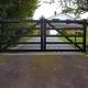 Steel five bar automatic gates Caldecote, Cambridgeshire
