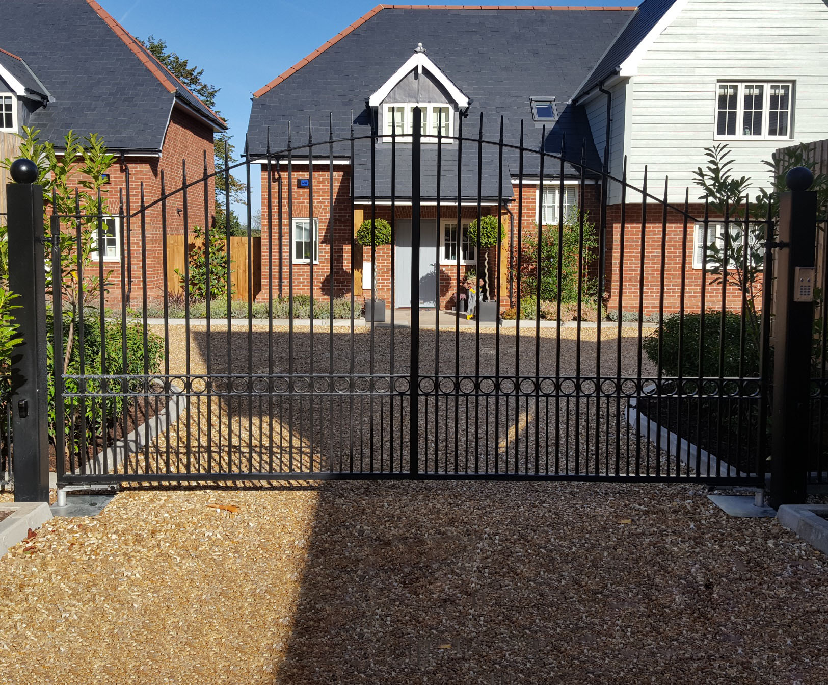 Newmarket Design Electric Gates