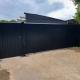 Littlebury design Sliding gate Longstanton