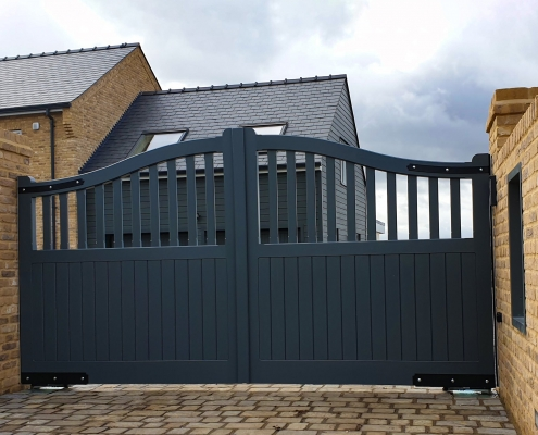 Newmarket Design Automatic Gates Willingham