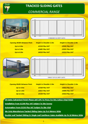 Commercial Sliding Gates