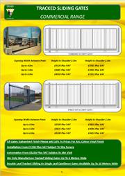 Commercial Sliding Gates Brochure