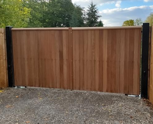 Littlebury Design Automatic Gate Whittlesford