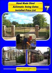 Wrought Iron Style Steel Swing Gates Brochure