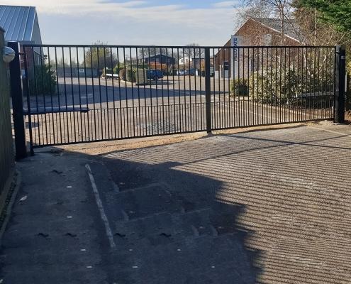 Sawston Flat Design Automatic Gates Girton Cambridge
