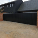 Littlebury Design Sliding Gate - July 2021 Hadstock